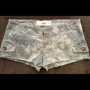 Hollister Low Waist Camouflage Shorts